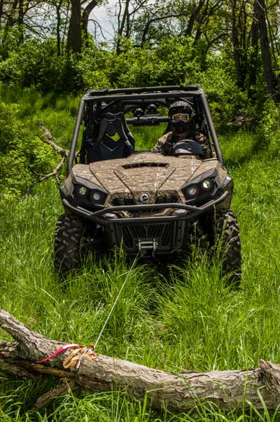 side by side with winch