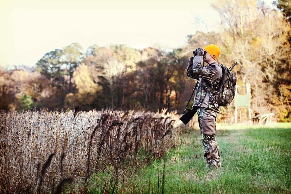 hunter glassing